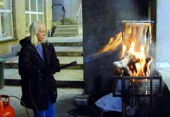 Joy Godfrey Making the Cast - Bronze Casting