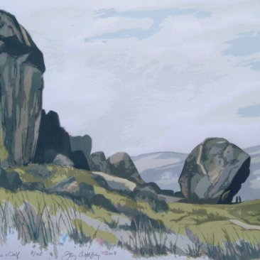 The Cow & Calf, 2008 Silkscreen print on Arches 300 gsm paper By Joy Godfrey