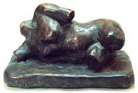 Female Torso Bronze By Joy Godfrey
