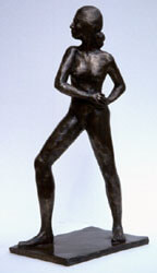 Monumental Figure Bronze By Joy Godfrey