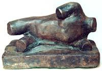 Male Torso Bronze By Joy Godfrey