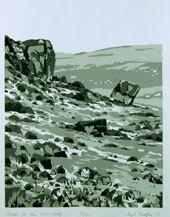 The Cow & Calf 1977 Silkscreen Print By Joy Godfrey