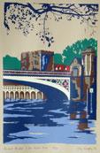 Lendal Bridge Silkscreen Print By Joy Godfrey