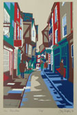 The Shambles Silkscreen Print By Joy Godfrey