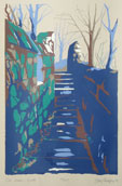 The Walls Silkscreen Print By Joy Godfrey